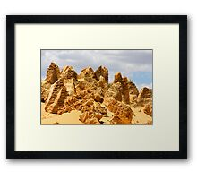 The Pinnacles 11 Framed Print