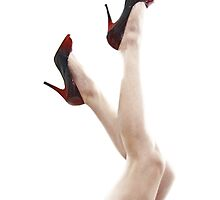 Red Hot Heels. by Christina Thomas