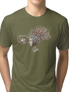 Observing the observer - nature inspired T-shirt Tri-blend T-Shirt
