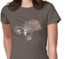 Observing the observer - nature inspired T-shirt Womens Fitted T-Shirt