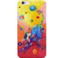 Topsy Turvy Trip I phone case, by Alma Lee iPhone Case/Skin