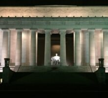 Lincoln Memorial  Sticker