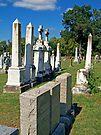 Chapel Point Gravestones by Tamara Valjean