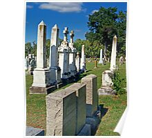 Chapel Point Gravestones Poster