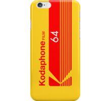 Kodaphone 64 iPhone Case/Skin