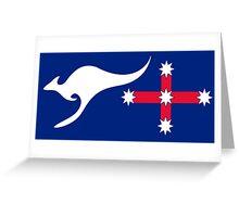 New Australian Flag Design - AFL1 Greeting Card