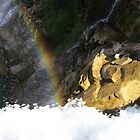 Rainbow Over the Falls by Alyce Taylor