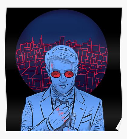 Matt Murdock (Transparent v.1) Poster