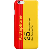 Kodaphone 25 iPhone Case/Skin