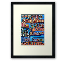 Ribbon Town Framed Print