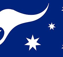 New Australian Flag Design AFL3 by VooKoo