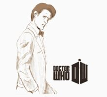 Sketchy 11th Doctor  by Eleni KawaiiGamergrl