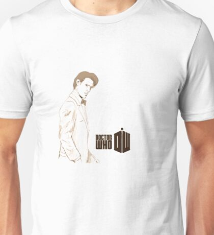 Sketchy 11th Doctor  Unisex T-Shirt