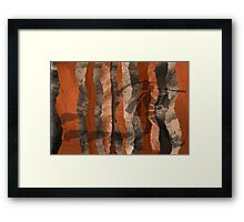 The pied piper in the forest Framed Print
