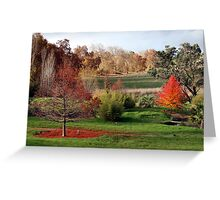 Autumn around the Chinampa - A Thamo Greeting Card