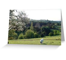 Pear tree lookout -Robert Mann Greeting Card
