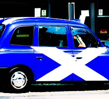 Take me to the Saltire by justbmac