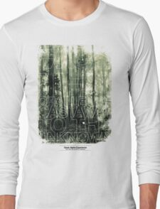 CASTAWAY TO THE UNKNOWN Long Sleeve T-Shirt