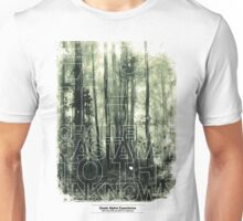 CASTAWAY TO THE UNKNOWN Unisex T-Shirt