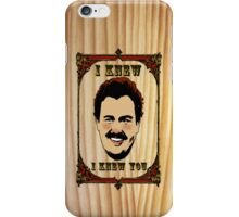 Del knows he knows you iPhone Case/Skin