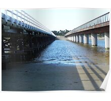 bridges at Barwon Heads Poster