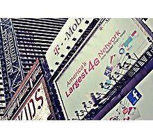 Billboard NYC Photographic Print
