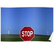Stop Windfarms Poster