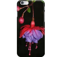 Fuscia - Flower-Iphone-Case iPhone Case/Skin