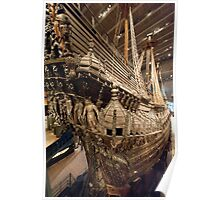 Stern of the Vasa Poster