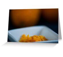 Zesty Orange Greeting Card
