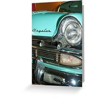 Chrysler 1953 Greeting Card