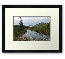 Willow Creek Framed Print