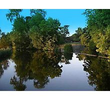 Riverside Reflections Photographic Print