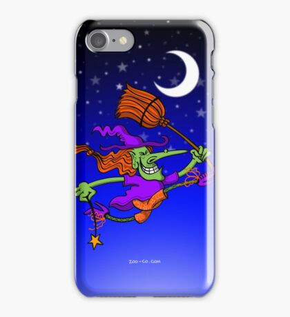Crazy Witch Jumping iPhone Case/Skin