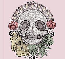 Skull Fiesta by Danielle Reck