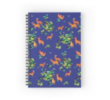 Forest Spirits Spiral Notebook