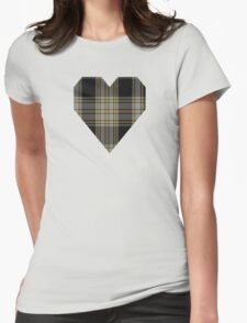 00871 WC WM 972-2 Tartan Womens Fitted T-Shirt