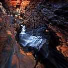 Inner Sanctum - Hancock Gorge - Karijini NP by Matt  Streatfeild