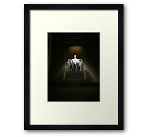 Hey Lincoln! Framed Print