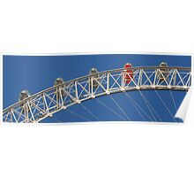 Panoramic London - London Eye Poster