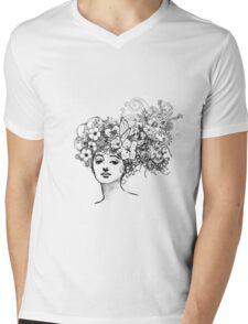 Secret Garden Mens V-Neck T-Shirt