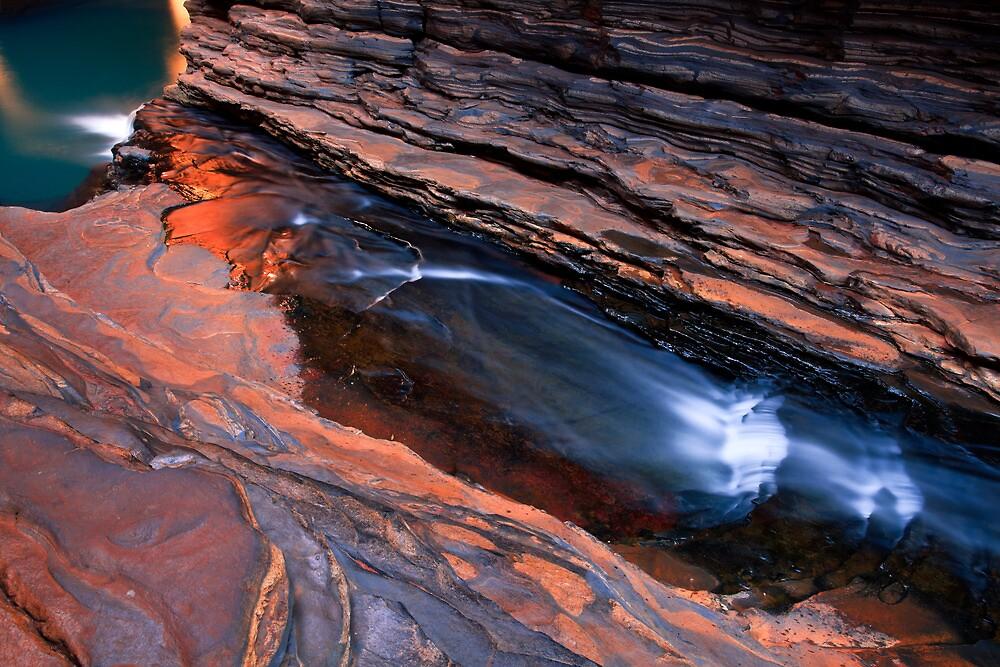 Pilbara Perfection - Hancock Gorge - Karijini NP by Matt  Streatfeild