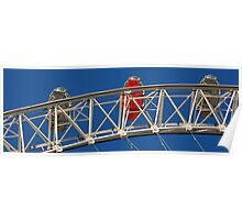 Panoramic London - London Eye. Poster