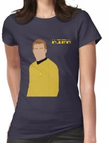 Captain Kirk Womens Fitted T-Shirt