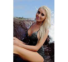 A blond Siren 2 Photographic Print
