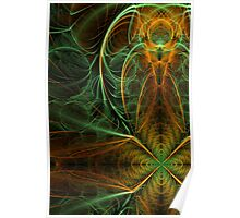 Geometric Abstract 01 Poster
