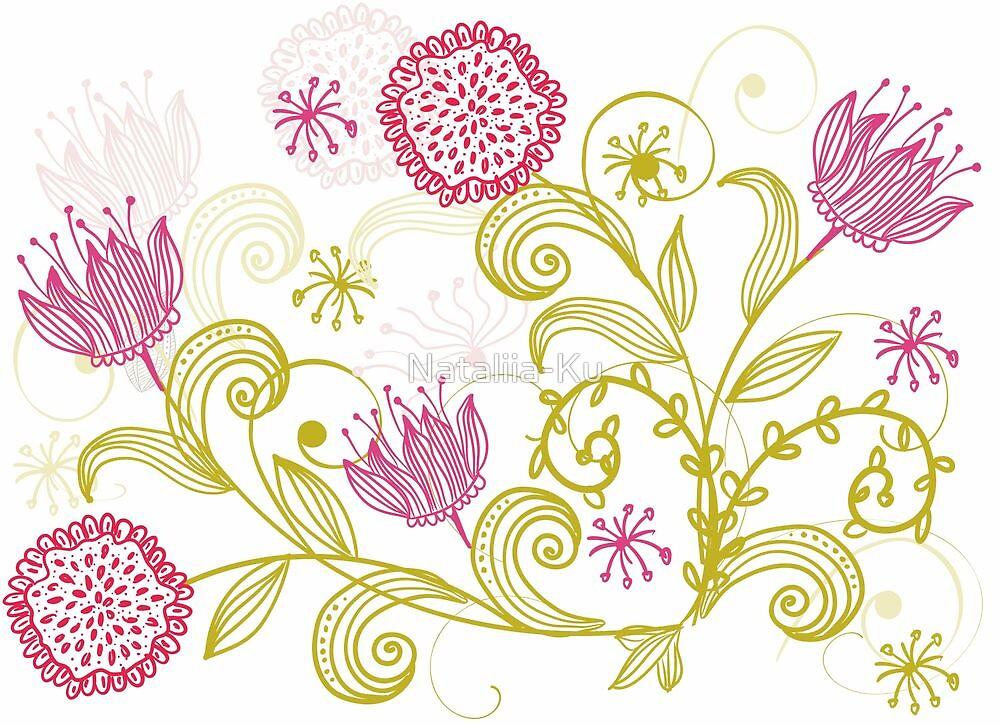 Flowers Cars by Nataliia-Ku