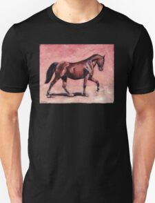 Walking with Purpose II ( horse portrait oil painting) T-Shirt