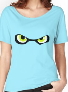 Squid Kid Eyes - Lime Women's Relaxed Fit T-Shirt