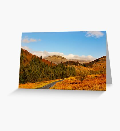 Duddon Valley Autumn Greeting Card
